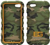 Bear Grylls Action Case iPhone 5 5S Woodland Camo